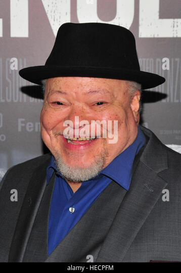 New York, USA. 19th Dec, 2016. Stephen Mckinley Henderson attends the 'Fences' New York screening at Rose - Stock-Bilder