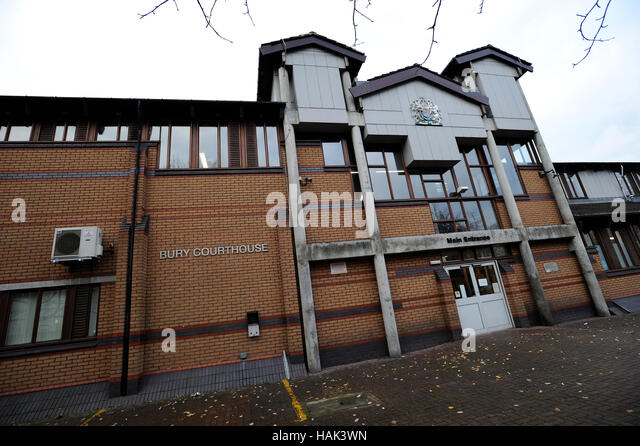Bury Magistrates Court,  Bury, Lancashire. Picture by Paul Heyes, Thursday December 01, 2016. - Stock Image