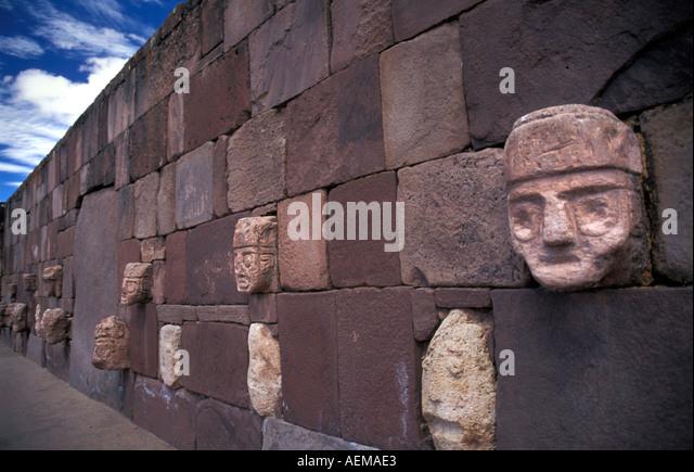 Tiwanaku empire stock photos
