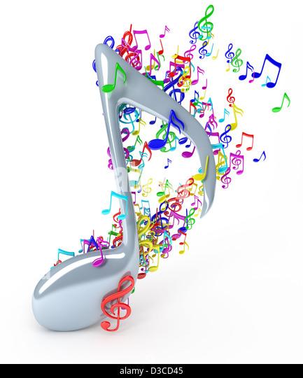 Music notes - Stock-Bilder