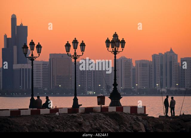 Abu Dhabi, United Arab Emirates - Stock Image