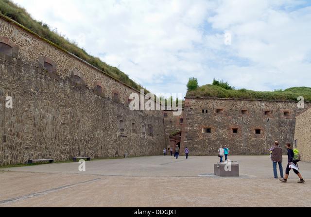 Fortress Ehrenbreitstein in Koblenz, Germany - Stock-Bilder