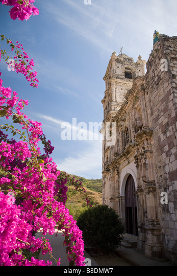 San jose church copala - Stock Image