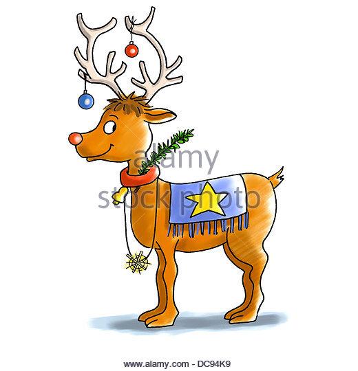 reindeer 3 - Stock-Bilder