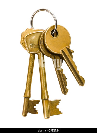 how to clean house keys