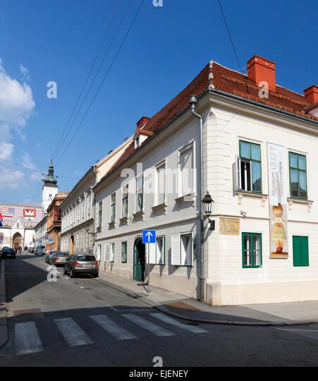 Zagreb, Museum of broken Relationships. Zagreb upper town, Croatia. - Stock Image