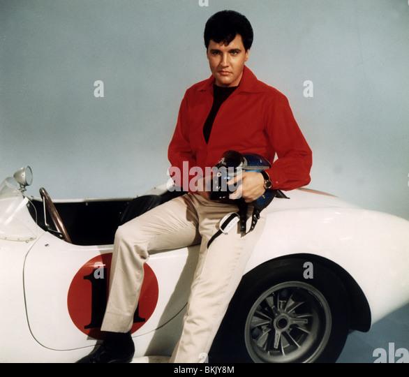 SPINOUT -1966 ELVIS PRESLEY - Stock Image