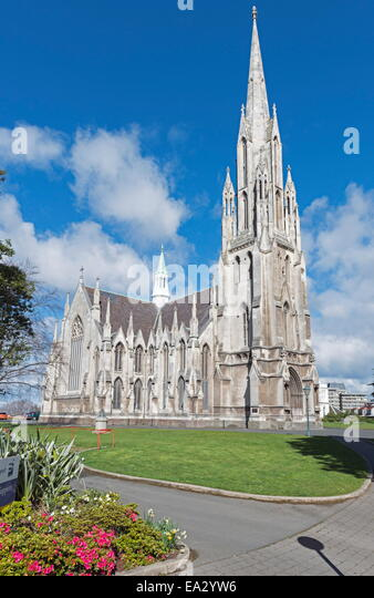 The First Church, Dunedin, Otago, South Island, New Zealand, Pacific - Stock Image