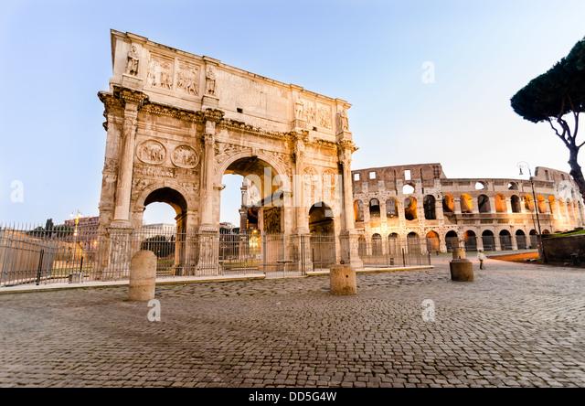 Arco di Costantino. (Constantin's Arc) Roma (Rome) Italy - Stock Image