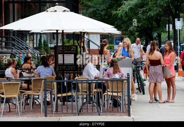 Armani Cafe Newbury Street