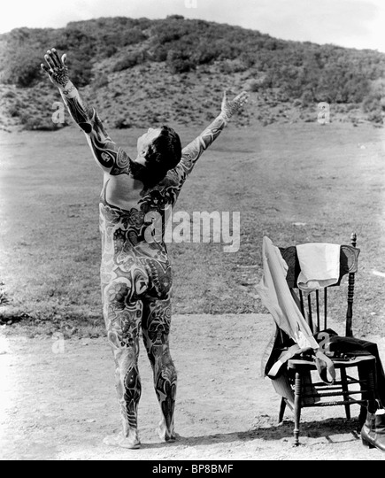 ROD STEIGER THE ILLUSTRATED MAN (1969) - Stock Image