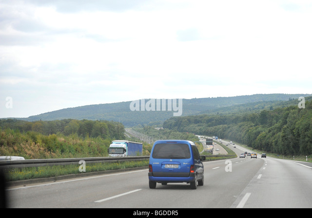 autobahn, germany - Stock-Bilder