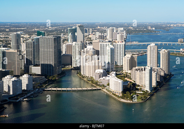 Downtown miami - Stock Image