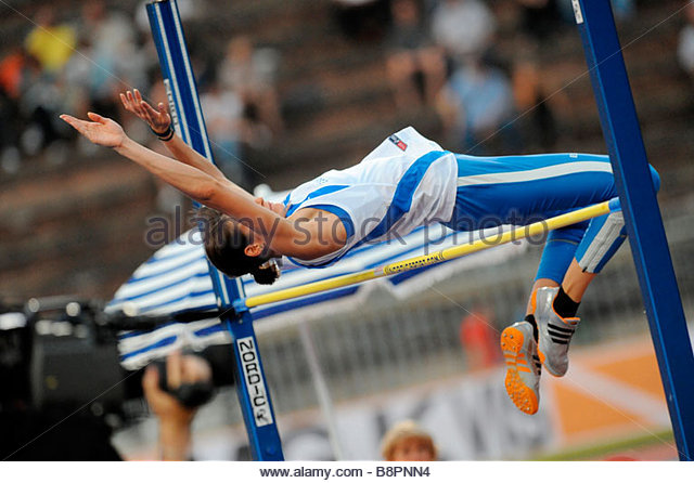 track and field athletics - Stock Image