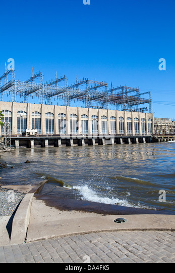 The Conowingo Dam (also known as the Conowingo Hydroelectric Plant) is a large hydroelectric dam in the Susquehanna - Stock Image