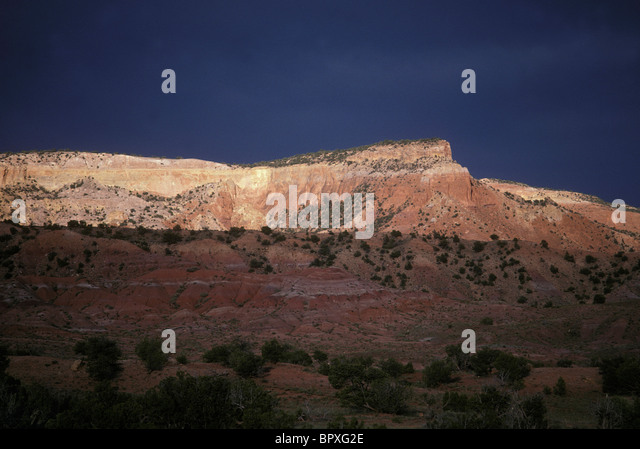 Ghost Ranch - Stock Image