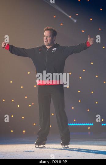 Kyran Bracken Celebrities on Ice - Stock Image