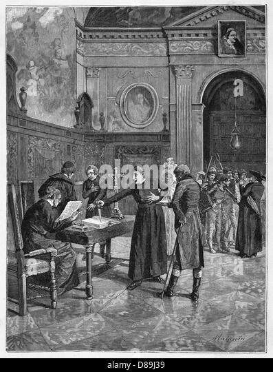Oath Of Sanfedisti - Stock Image