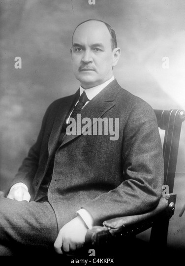 David Franklin Houston was an American academic, businessman and politician. - Stock Image