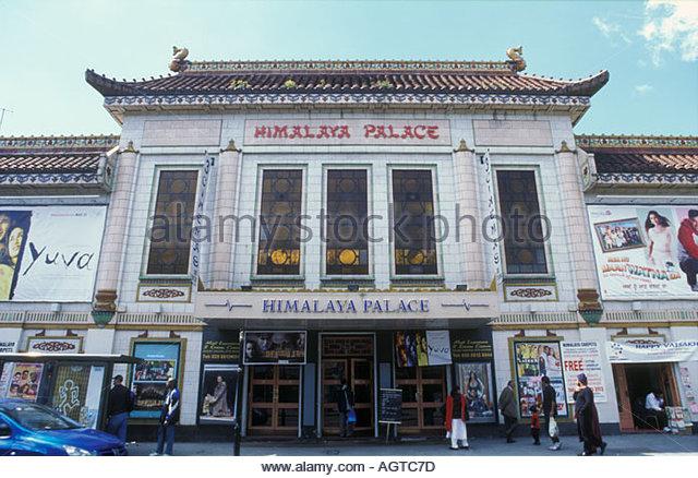 Asian cinema in Southall West London UK - Stock-Bilder