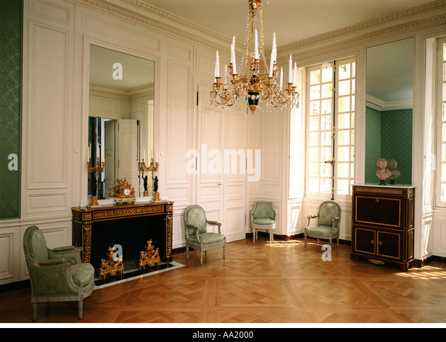 Louis xviii stock photos louis xviii stock images alamy - Chambre de la reine versailles ...