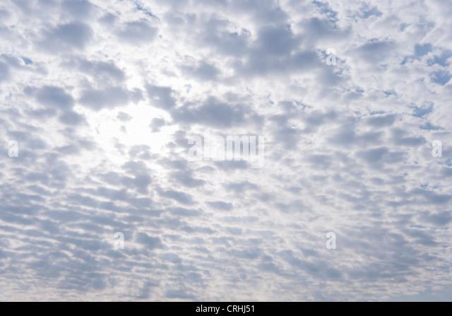Overcast sky - Stock-Bilder