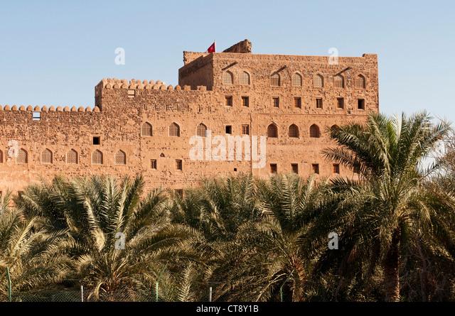 Elk207-2638 Oman, Jabrin Fort, 17th c - Stock Image