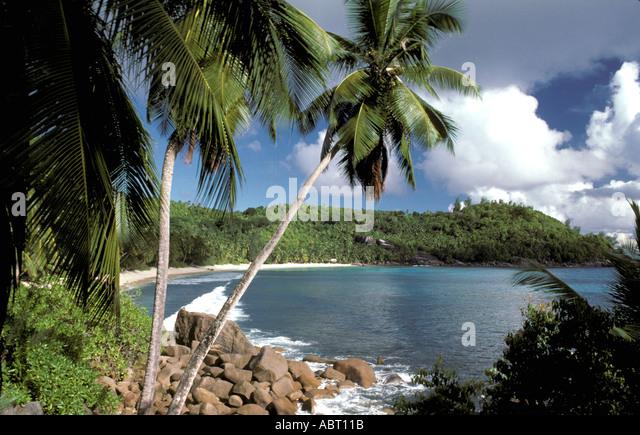 SEYCHELLES Mahe Island Coast - Stock Image