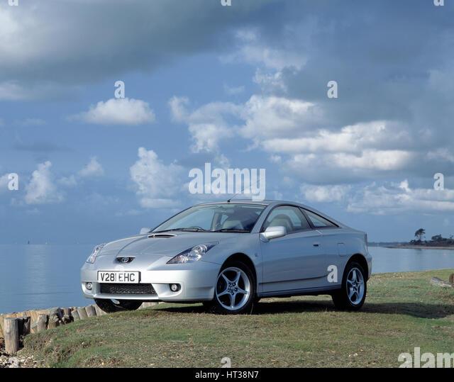 1999 Toyota Celica vvti. Artist: Unknown. - Stock Image