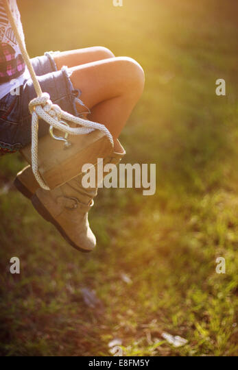 Macon, Noxubee County, Mississippi, United States of America Childhood Light - Stock Image