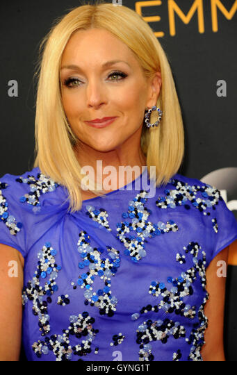 Jane Krakowski at the 68th Annual Primetime Emmy Awards held at the Microsoft Theater in Los Angeles, USA on September - Stock-Bilder