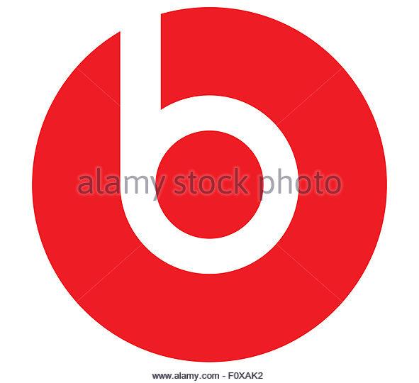 Beats Electronics logo icon - Stock Image