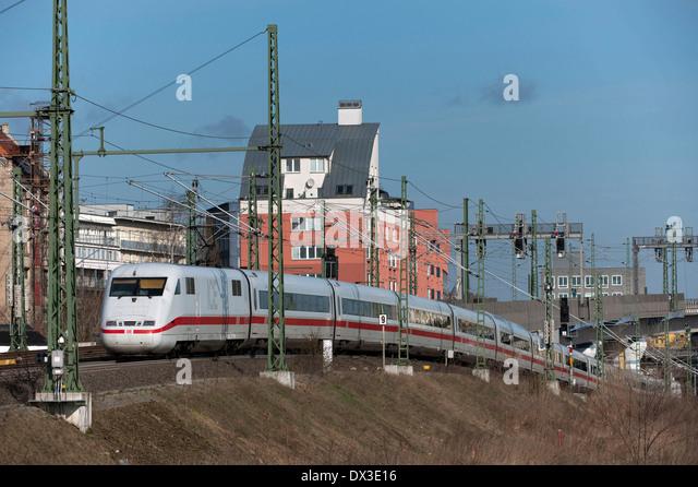 Intercity Express - Stock-Bilder