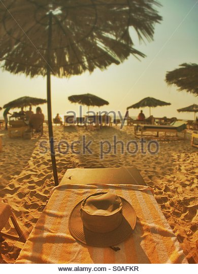 Beach Goa India - Stock Image