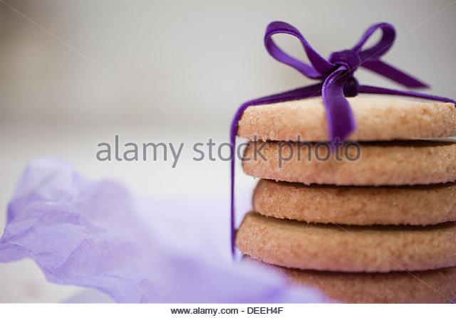 Stack of cookies - Stock-Bilder