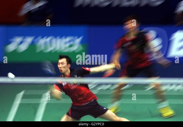 Jakarta Dki Indonesia June Huang China Badminton