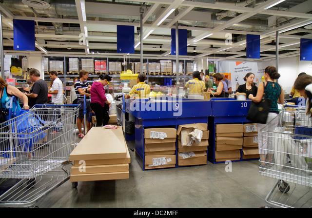 Usa paying shop stock photos usa paying shop stock for Ikea ft lauderdale
