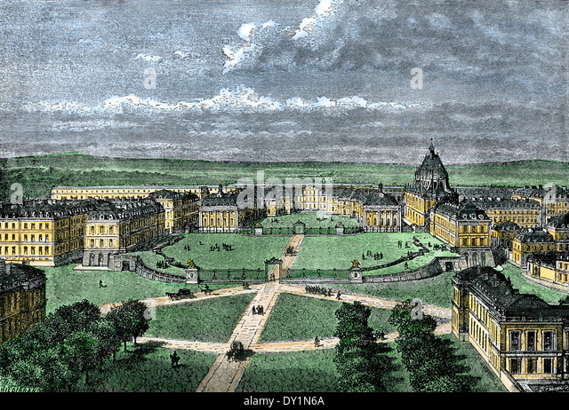Versailles Palace outside Paris, France. - Stock-Bilder