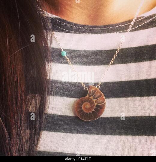 Shell necklace - Stock-Bilder