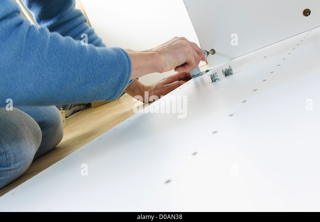 Flat pack furniture stock photos flat pack furniture stock images alamy - Diy tips assembling flat pack furniture ...