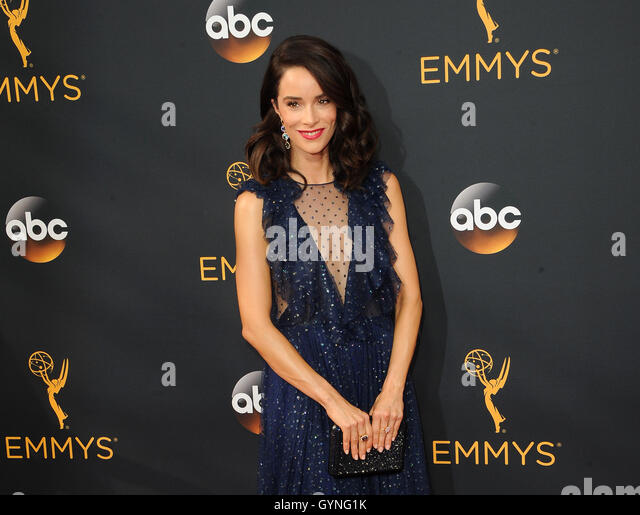 Abigail Spencer at the 68th Annual Primetime Emmy Awards held at the Microsoft Theater in Los Angeles, USA on September - Stock-Bilder