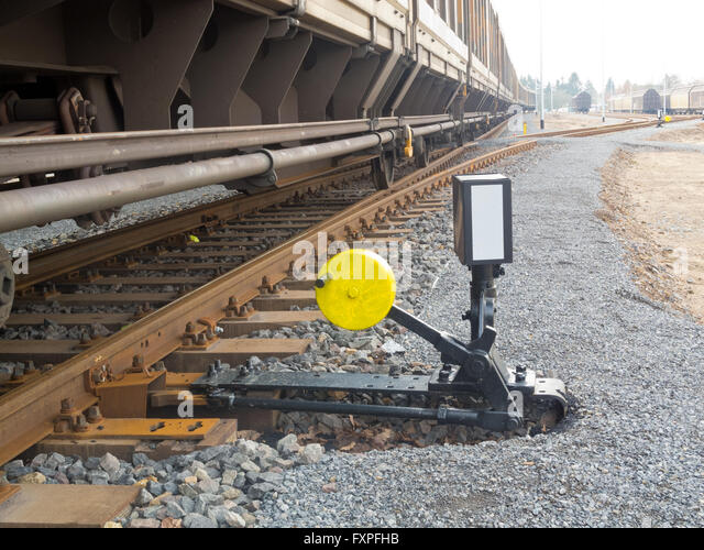 Change Lever For Trains : Railway signal lever stock photos