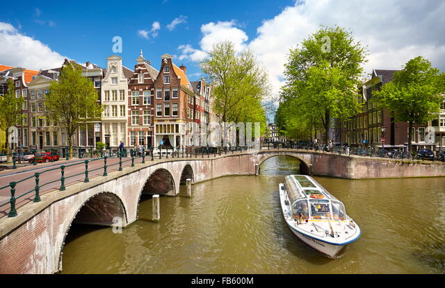 Amsterdam - Holland, Netherlands - Stock Image