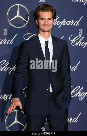 Palm Springs, Ca. 2nd Jan, 2017. Andrew Garfield at the 2017 Palm Springs International Film Festival Gala at the - Stock Image