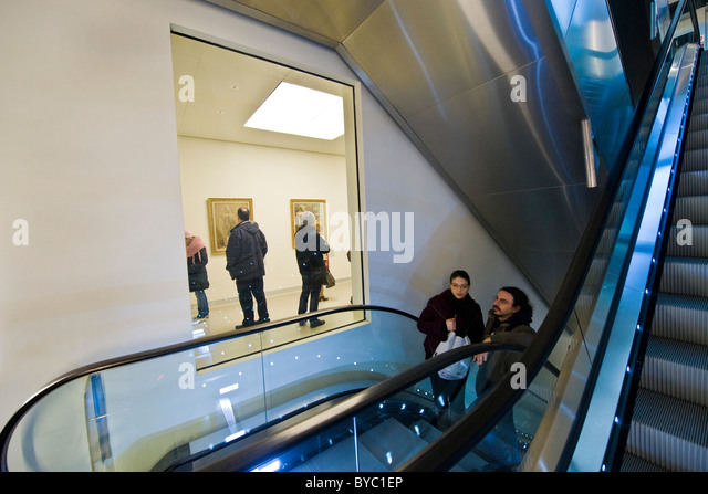 Museum of the twentieth century, Novecento museum, Milan, italy - Stock Image