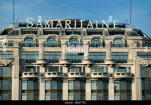 La samaritaine department store paris stock photos la - Boutique art deco paris ...