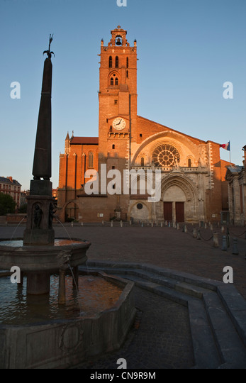 Toulouse cathedral stock photos toulouse cathedral stock for 55 haute garonne