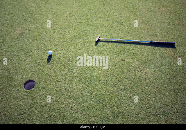 Palm Springs CA Desert Oasis Golf course beautiful lovely picturesque Western US United States in Palm Desert California - Stock-Bilder