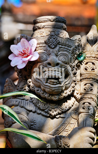 Balinese mythology figurine, Bali, Indonesia - Stock Image