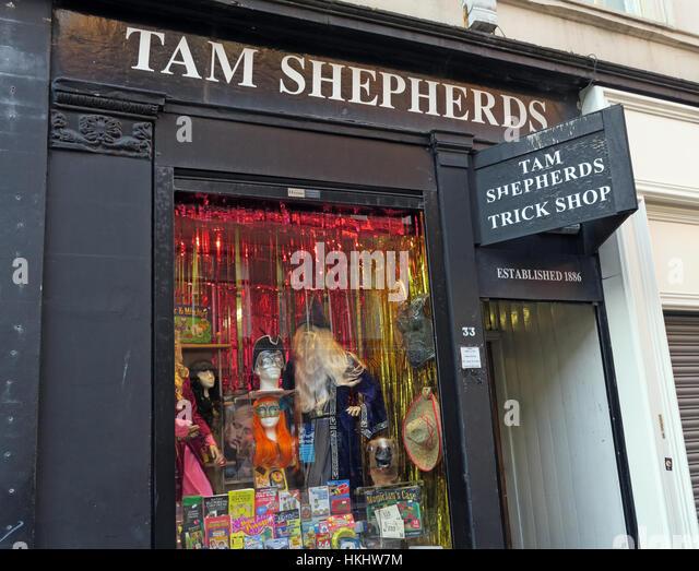 Tam Shepherds Trick Shop,Glasgow City Centre - Stock Image